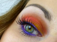 AMU / FOTD: Orange Sunset