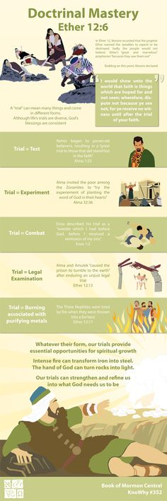 Doctrinal Mastery Ether 12:6 Infographic by Book of Mormon Central