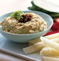 Ginger-Garlic Hummus Recipe | Epicurious.com