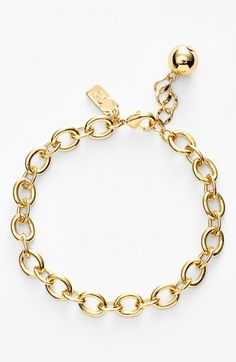 Free shipping and returns on kate spade new york 'how charming' charm bracelet at Nordstrom.com. A lovely gilded link bracelet is the perfect place to hang all those girly kate spade new york charms.