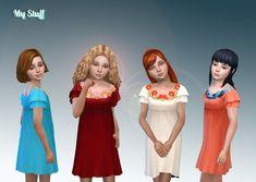 Dress Flower Collar [#ts4_child_fullbody] [#ts4_bacc_elf]