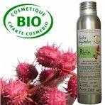 Huile végétale vierge et BIO de ricin - 1€ les 10 ml