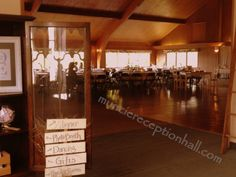 A cute way to direct your #wedding guests at the #reception. |Photo by The Ballroom|