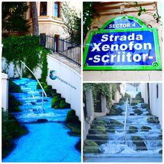 Strada Xenofon Romania Travel, Bucharest, Fair Grounds, Places, Outdoor Decor, Fun, Google, Lugares, Hilarious