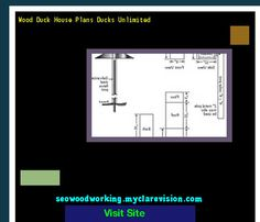 Wood Duck House Plans Ducks Unlimited 180826 - Woodworking Plans and Projects!