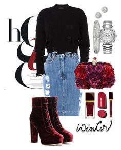 """""""Untitled #98"""" by ba-faria-marto on Polyvore featuring Moschino, adidas Originals, Jimmy Choo, Alexander McQueen, Cartier, Bony Levy, Rolex, Chanel and Tom Ford"""