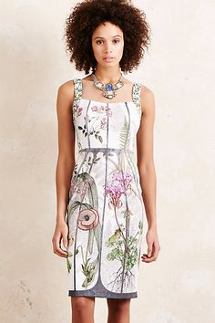 Anthropologie EU Versailles Neoprene Dress