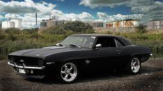 Black 60s SS Camaro