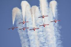 California Capital Airshow 2013 - Canadian Snowbirds