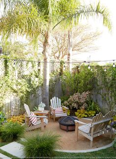 Backyard inspiration - firepit