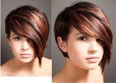 womens short assymetrical bob hairstyles for fuller faces - - Yahoo Image Search Results