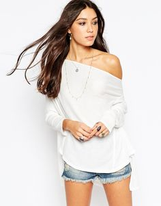 Free People Lucky Day Wrapped Top