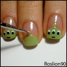 toy+story+alien+nails+roslion90+nail+art.jpg 300×300 pixels