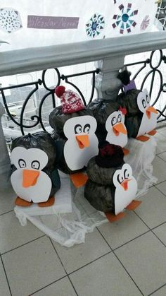 Art Activities, Halloween, Winter, Creative, Home Decor, Penguins, Art, Noel, Carnival