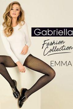 20 Den Sheer Suspender Stockings Anika Garter Belt Gabriella Black Beige White