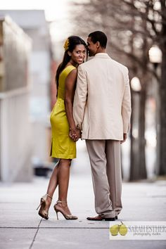 The Not #Wedding (www.thenotwedding.com) couple for 2012. A mock #engagement session in #Atlanta with a gorgeous couple!