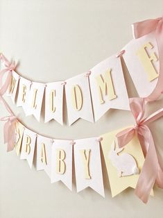Excited to share the latest addition to my shop: Bunny Baby Shower Banner Spring Girl Birthday Decorations Baby Girl Birthday Bunting Welcome Baby Blush Rose Rabbit Banner Its a Girl Welcome Baby Party, Welcome Baby Girls, Welcome Baby Banner, Girl Birthday Decorations, Baby Shower Decorations, Birthday Bunting, Baby Shower Bunting, Baby Boy Shower, Decoracion Baby Shower Niña