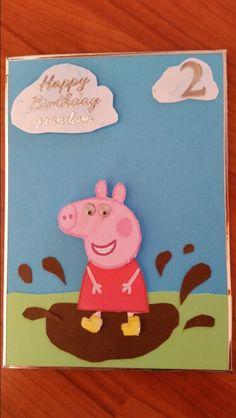 Peppa Pig 2nd birthday.