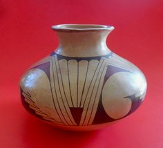 Your place to buy and sell all things handmade Pottery Making, Archaeological Site, Ceramic Artists, Earth Tones, Prehistoric, Geometric Shapes, Mexico, Vase, This Or That Questions