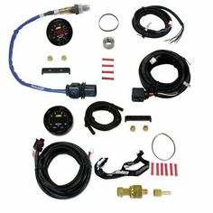 """52mm 2/"""" 7 Color LED 0-140 PSI Diesel Fuel Pressure Gauge Sender Unit"""