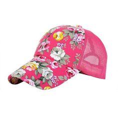 Women s Hats   Caps 2016 new floral baseball hat cap mesh cap summer sports  and leisure sun visor sun hat snapback cap - Angel eShop 87da99b2f835