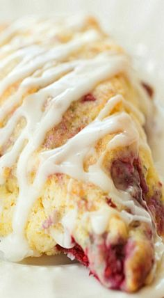 Meyer Lemon-Raspberry Scones