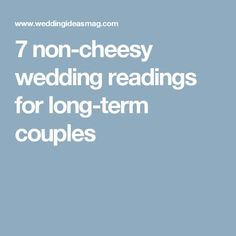 Wedding Readings: Reading Ideas for Every Ceremony Sonnet 7 non-cheesy wedding readings for long-term couples Blessing For A Marriage, by James Dillet Freeman. Love Readings For Wedding, Wedding Poems Reading, Wedding Ceremony Script Funny, Love Poems Wedding, Non Religious Wedding Ceremony, Wedding Prayer, Wedding Ceremony Readings, Wedding Blessing, Wedding Humor
