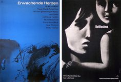 """Movie Poster of the Week: """"Shadows"""" and the Posters of Hans Hillmann on Notebook 