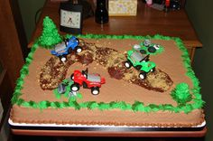 4 Wheeler Cake | wheeler groom's cake | this takes the CAKE