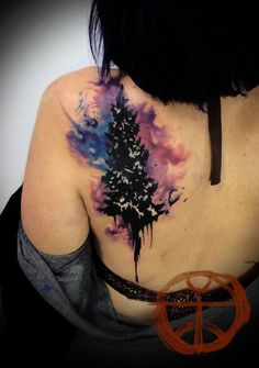 Top 14 Famous Medium-Size Watercolor Tattoos – Realistic Art Fashion Design - Way To Be Happy (9)