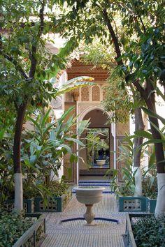 Bahia Palace courtyard | by jo mclure
