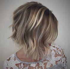 Julianne Hough Bob. #balayage #blonde #bob #juliannehough #hair #beauty