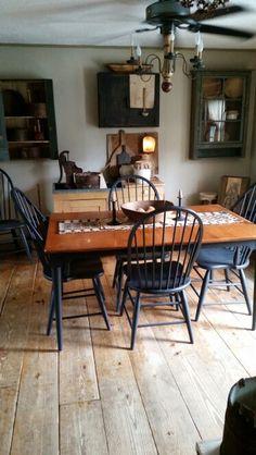 130 best ideas primitive country kitchen decor - Primitive Kitchen Tables