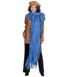 Fleece scarf.  Make like a wrap using anti pil fleece