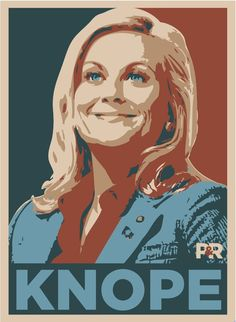 There are a million reasons to love NBC's Parks and Recreation. Amy Poehler is the first hundred, and her character, Councilwoman Leslie Knope, makes up most of the rest. Parcs And Rec, Leslie Knope, Amy Poehler, Ron Swanson, Parks And Recreation, Jurassic World, Best Tv, Movies Showing, Funny People