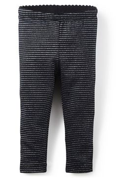 Tea Collection 'Sparkle' Metallic Stripe Leggings (Baby Girls) available at #Nordstrom