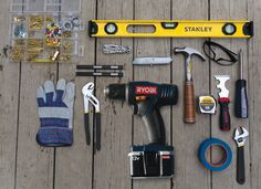 Pioneer Woman/Building a starter tool kit.