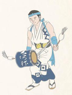 Japan_Fukushima_Jangara_Dancer01