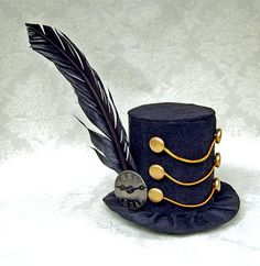 Dark March Mini Top Hat by Martianfiction