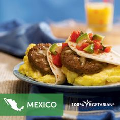 Liven up Mexican Brunch Tortillas with salsa.