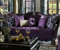 Plum color: 15 stylish ideas for your interior.