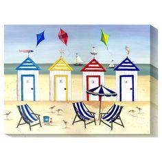 Beach Houses Canvas Art
