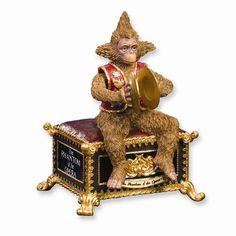 Phantom of the Opera Monkey Glided Base Figurine