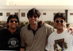 Old times.........Junaid Jumshaid with Ali Haider and Sajjad Ali...