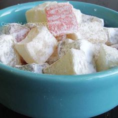 How to make Turkish delight at home | giverecipe.com | #dessert #turkishdelight #sweet #turkish
