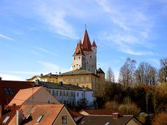 Blick zum Schlossturm