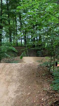 Downhill Mountain Biking, Trail, Country Roads