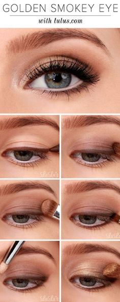 How To Create Smokey Eye Makeup 10 Gold Smoky Eye Tutorials For Fall Pretty Designs. How To Create Smokey Eye Makeup Best Smokey Eye Makeup. How To Create Smokey Eye Makeup How To Apply Eyeshadow Smokey Eye Makeup Tutorial For… Continue Reading → Smokey Eyeshadow Tutorial, Eyeshadow Tutorial For Beginners, Makeup Tutorial Eyeliner, Makeup For Beginners, Eye Makeup Tips, Beauty Makeup, Eyeshadow Tutorials, Makeup Ideas, Eye Tutorial