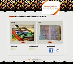 Apu weboldala  Festményei és versei