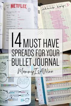 14 Bullet Journal Spreads That Are Perfect Bullet Journal Spreads - Best Bullet Journal Layouts for Everything You Want To Track- 14 Must Have Spreads You Need In Your Bullet Journal